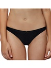 Women's Sexy Thong Panties Daily Flawless Black