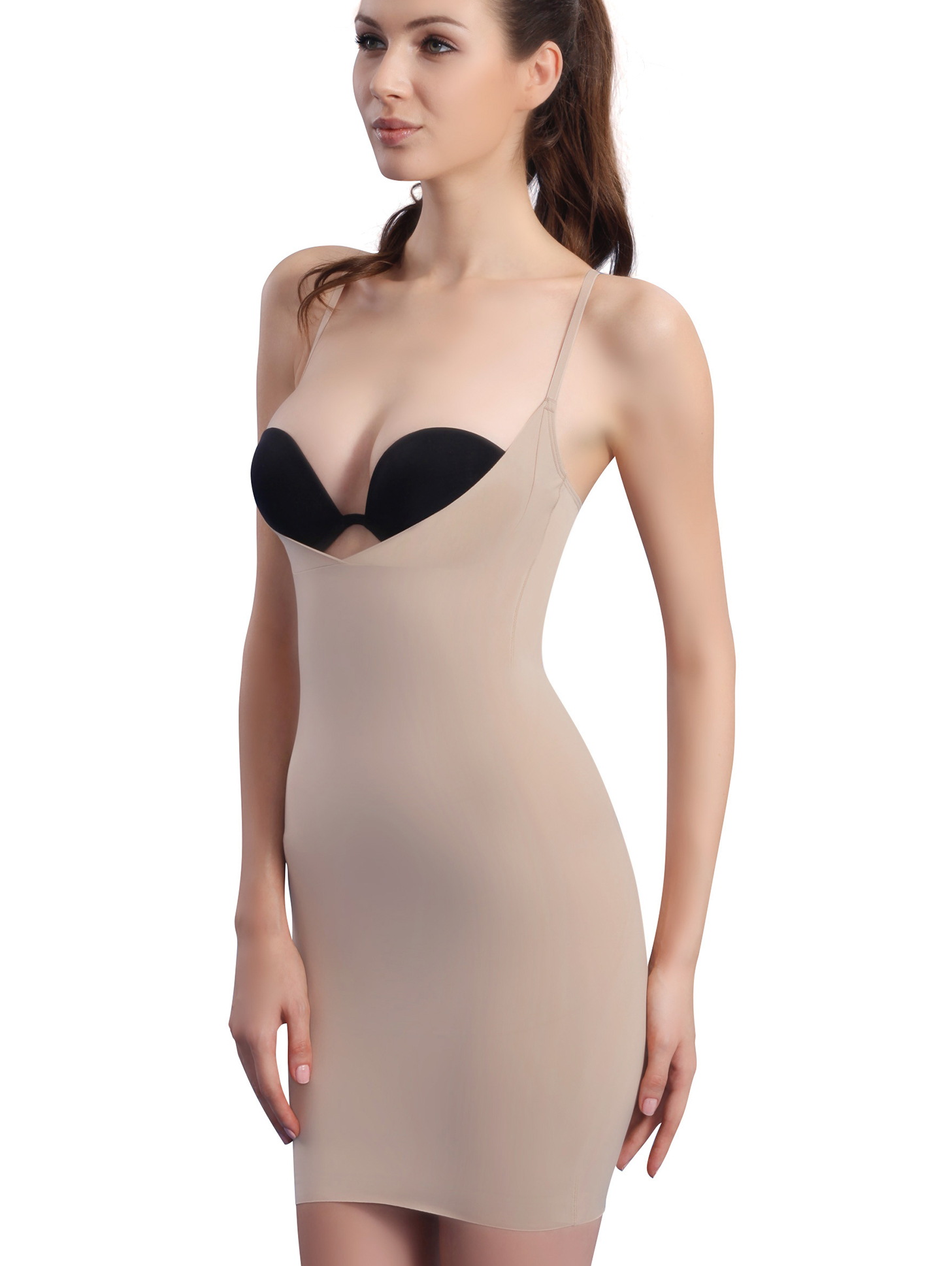 Sexy Full Figure Shaper | Slimming Shapwear Slip | PPZ.COM