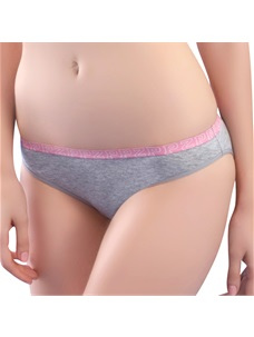 Women's Perfect Shape Bikini Panty Cotton Elastic Waist